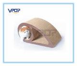 Augen-Form-Wellpappen-Katze Scratcher für Katze