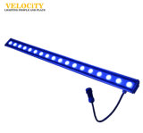 Éclairage extérieur 18PCS RGB LED Wall Washer Light Color Change Light Bar