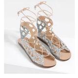Очень дешево плоские сандалии женщин повелительниц с мешками (TM-F028)