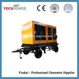 электрический звукоизоляционный тепловозный генератор 375kVA с двигателем Shangchai