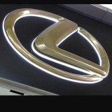 수출 건강한 호화스러운 옥외 2015의 최신 판매 뒤 Lit LED 아크릴 모터 로고 표시