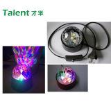 E27 3W Colorful Rotating RGB Disco Party LED Bulb