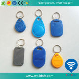 Fobs chaves do ABS FM11RF08 de 13.56 megahertz 1k RFID