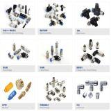 CVPC Conectores de tubos Válvulas de retención de aire de montaje