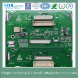 8 Layer Red Solder Mask BGA Board