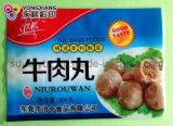 Упаковывать замороженного Meatball пластичный