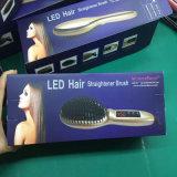 Cepillo eléctrico de la enderezadora del pelo de 2016 Digitaces con la visualización del LCD