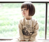Cotton organico Cute Sweatshirts per Baby e Kids