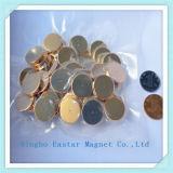 Hoher Kraft-Platten-Neodym-Magnet mit Vergoldung