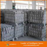 Хранение Steel Wire Mesh Roll Container с Wheels