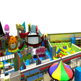 ChildrenのためのピンクのCandy House Indoor Playground