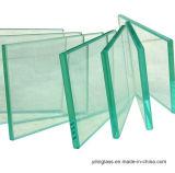 verre de flotteur clair de 3mm à de 12mm avec le verre d'espace libre de la CE et de qualité d'OIN