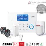 Heet Draadloos GSM van de Veiligheid van het Huis Alarm met identiteitskaart van het Contact Ademco