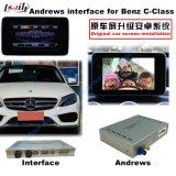 Interfaz androide de la navegación del coche para el Benz - C, Cla, Clk, B, a, E, navegación del tacto de la mejora de la CGL (NTG5.0), WiFi, BT, Mirrorlink