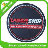 Coaster cabeza de familia personalizado de silicona 3D con logotipo personalizado (SLF-RC017)