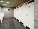 Fmh HPL hölzernes Badezimmer Aufteilung Zelle-Türen
