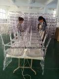 Прозрачный акриловый стул смолаы Наполеон (JC-SNP03)