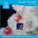 Gift 925 Echte Zilveren Reeks 8 van Kerstmis van Kerstmis van de Tegenhanger van de Juwelen van Lapis lazuli