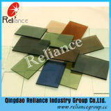 glace r3fléchissante verte de 5mm F/glace r3fléchissante vert-foncé pour la construction