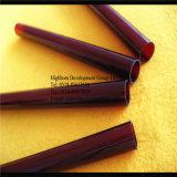 Fournisseur de tuyauterie de tectite de couleur rouge