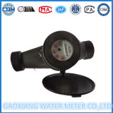 Contador del agua de nylon plástico de la dial seca del Multi-Jet