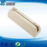 Mini leitor de cartão magnético portátil do crédito do leitor de cartão magnético