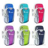 Colores que ejecutan el bolso móvil del brazo con insignia de encargo