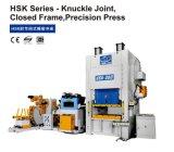 Prensa cerrada sola junta articulada de la precisión del marco de la acción de la ISO del CNC