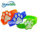 Bracelet personnalisé Shaped figure de silicones pour la famille