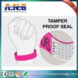 Tyvek de papel RFID permitió Wristbands