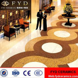 De la fabricación azulejos de suelo Polished de oro de la porcelana de Pulati del azulejo de la venta directo