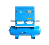 Tank Mounted Screw Stationary All-in-One Air Compressor (KA7-08D/250)