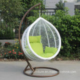 余暇のOutdoor Furnitureの庭Double WickerかRattan Swing Chair
