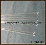 Aquecimento da tubulação do vidro de quartzo do silicone fundido do espaço livre da pureza elevada