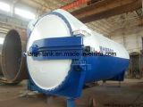 Нержавеющая сталь высокого качества автоклавировала газированную конкретную производственную линию автоклав кирпича для индустрии с клапанами