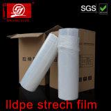 Película directa del embalaje de la paleta de la película de estiramiento del abrigo de la mano de la fábrica impermeable LLDPE