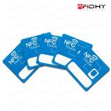 Gedruckter NFC Aufkleber mit NFC Firmenzeichen, das Metall an setzen kann