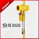 Hijstoestel 3 Fase 200-460V 6.8m/Min van de Keten van het Type 0.5ton van haak Elektrisch