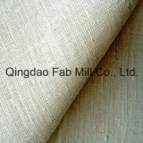 tessuto della tela di canapa 100%Hemp per la tessile domestica (QF13-0061)
