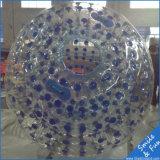 Material del PVC de la bola de Zorbbing del agua para los juegos del parque del agua