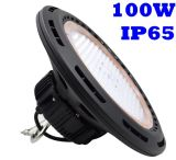 130lm/W 100W IP65 Waterproof a luz interna ao ar livre do louro do diodo emissor de luz do UFO