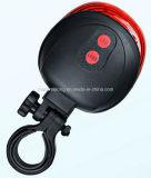 Задействуя свет кабеля лазера заднего светильника велосипеда безопасности водоустойчивый