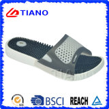PVC comodo Beach Slipper di Feetbed con Massage per Men (TNK20072-1)