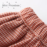 Falda de las muchachas del verano del algodón de Phoebee en ropa de los niños