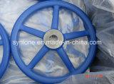 弁型の鋳造手車輪