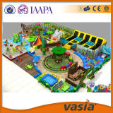 Раздувная спортивная площадка, крытый тип спортивной площадки для малышей