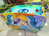 Tipo macchina della macchina di estinzione del gioco della galleria del biglietto del hokey dell'aria del delfino