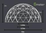 De duidelijke Tent van de Gebeurtenissen van de Tent van de Koepel Deodesic