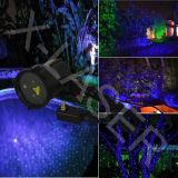 Het blauwe Bewegende Licht van de Laser van de Glimworm Openlucht