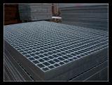 Grade de aço serrilhado com galvanização DIP quente